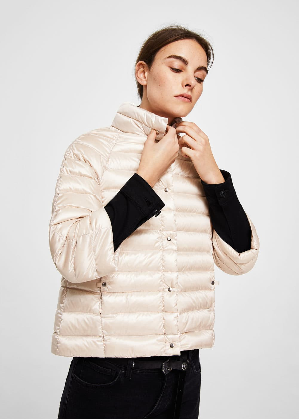 Quilted down anorak | MNG