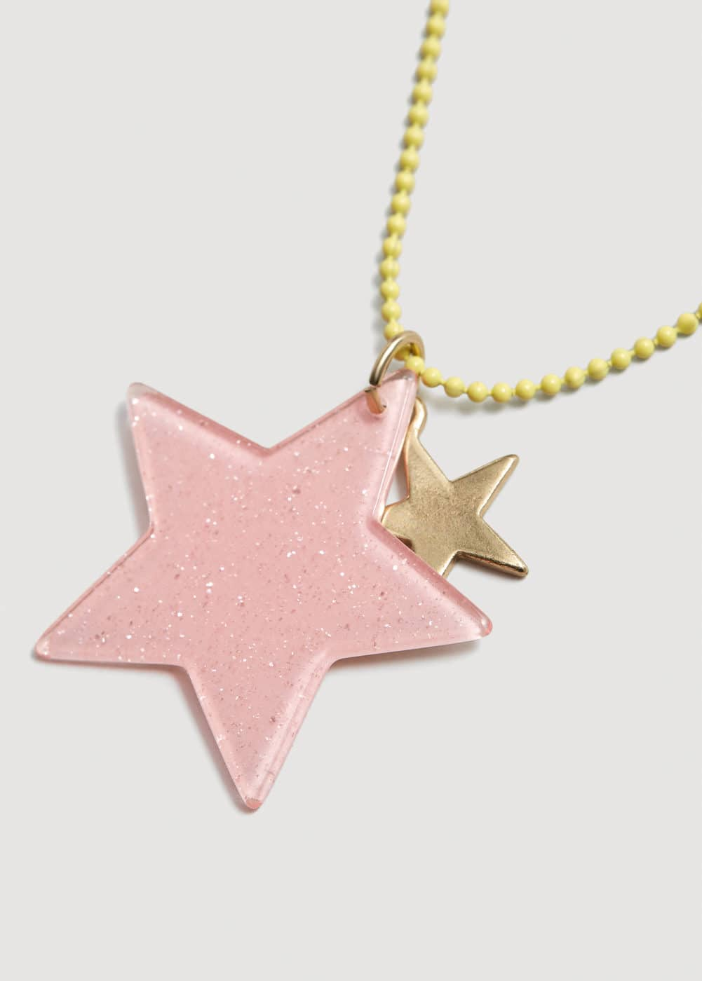 Star pendants necklace | MANGO