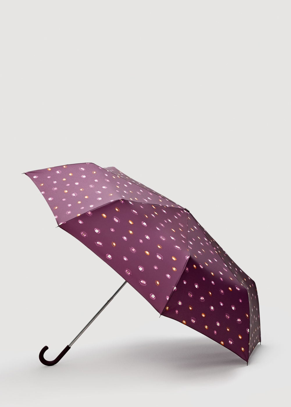 Print folding umbrella | MANGO