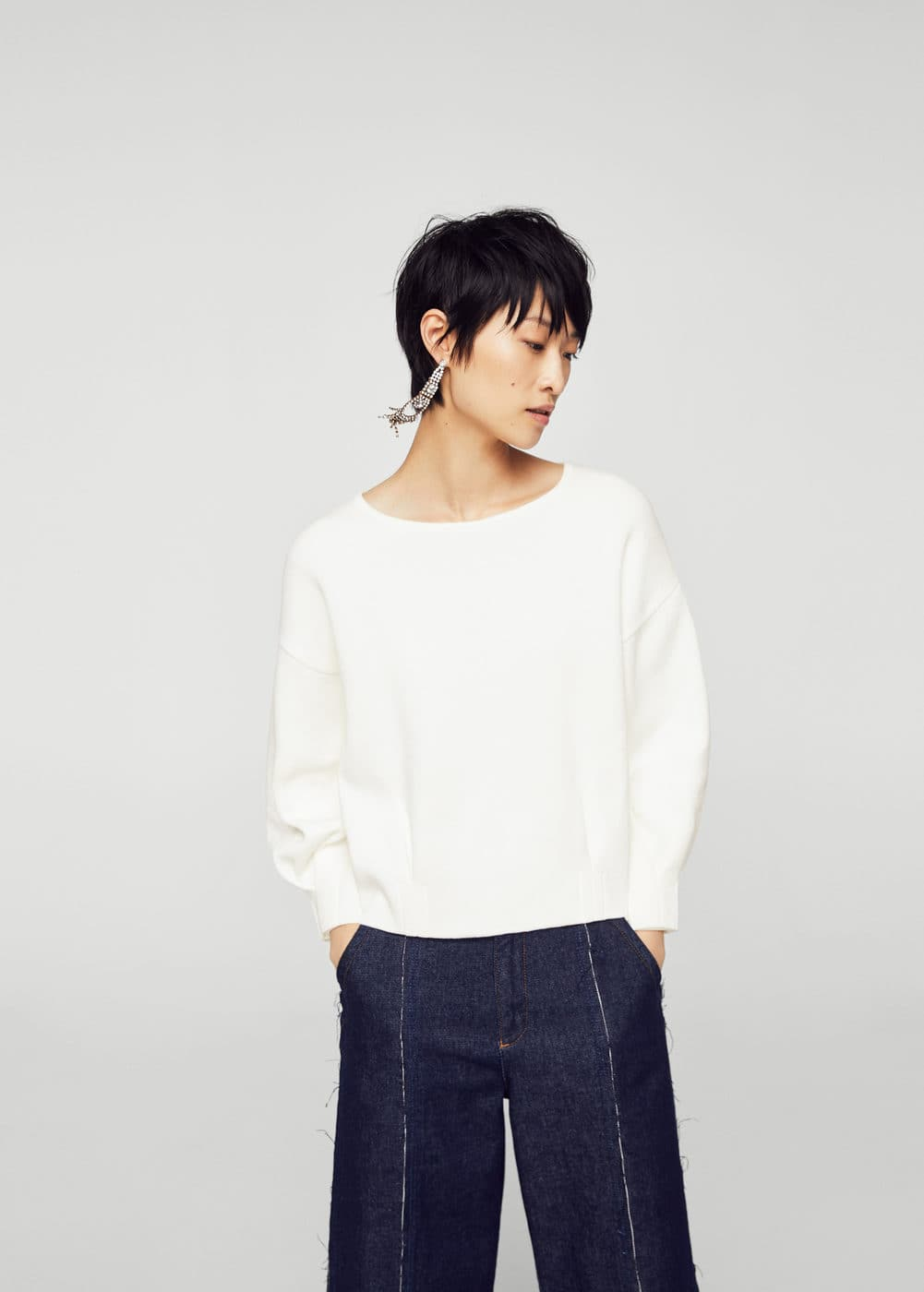 Organic cotton sweater | MANGO