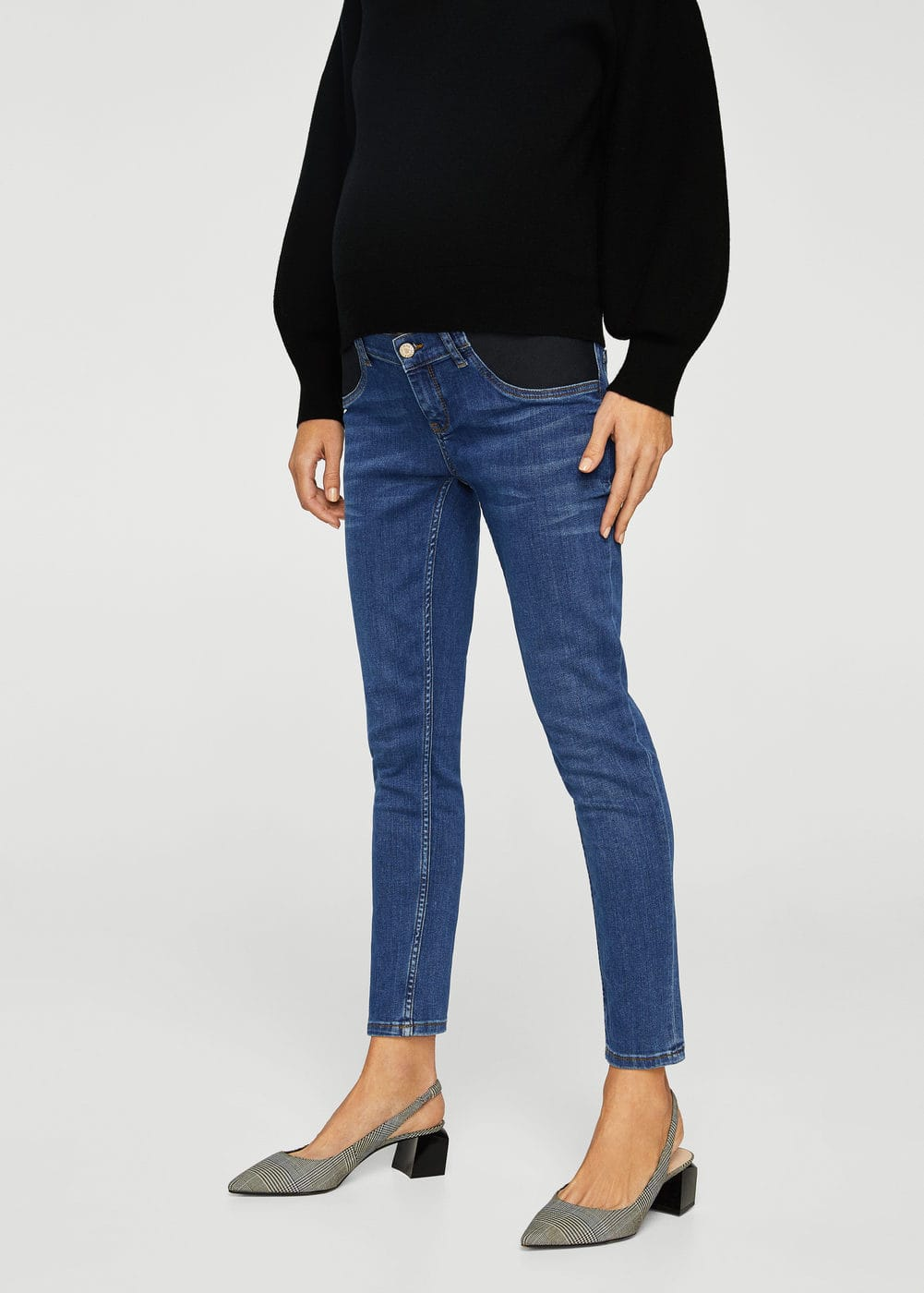 Mid-rise jeans | MANGO
