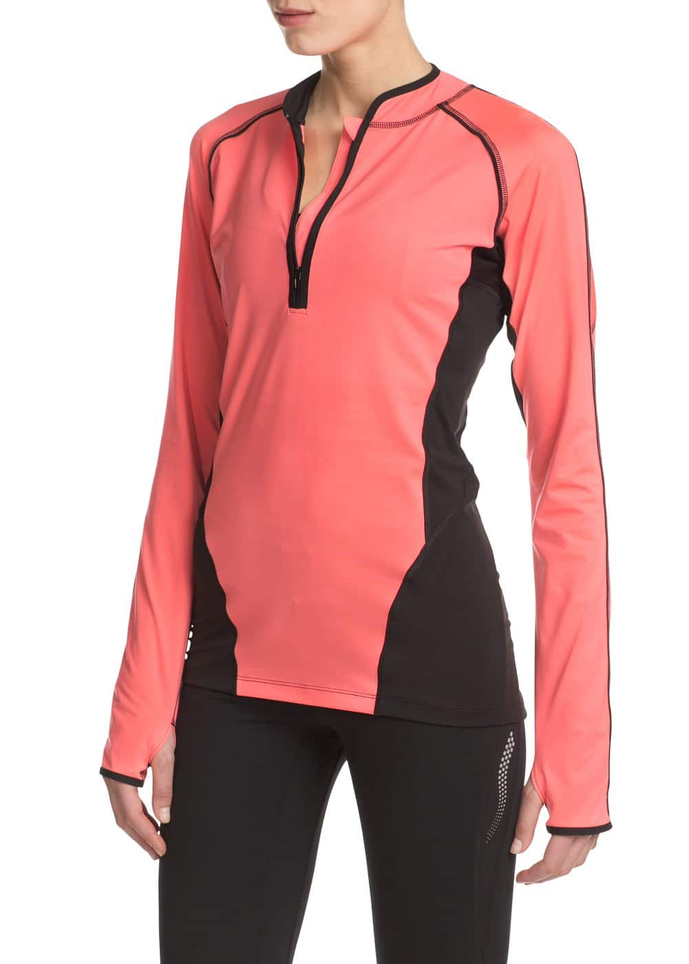 Fitness & running - motion stretch-t-shirt | MANGO