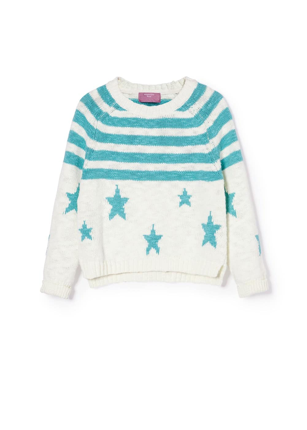 Star and stripe sweater | MANGO