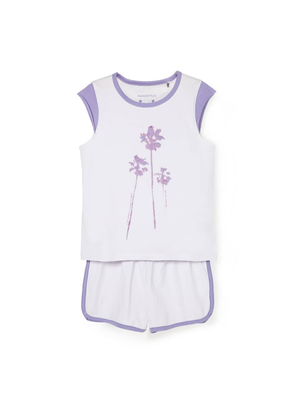 Palm cotton pyjamas | MANGO KIDS