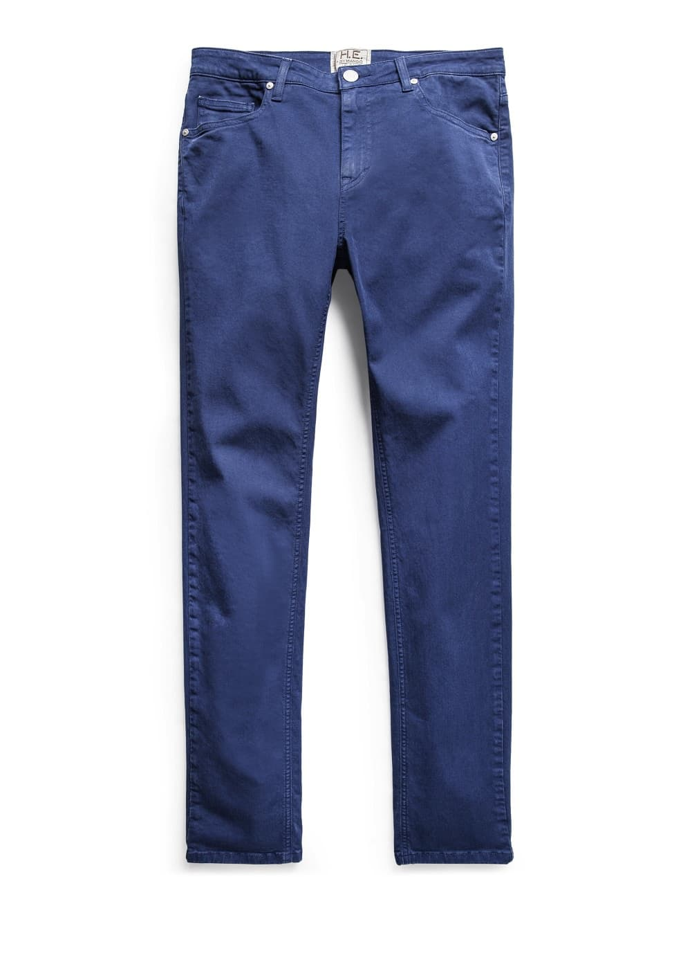 Super slim-fit blue patrick jeans | MANGO
