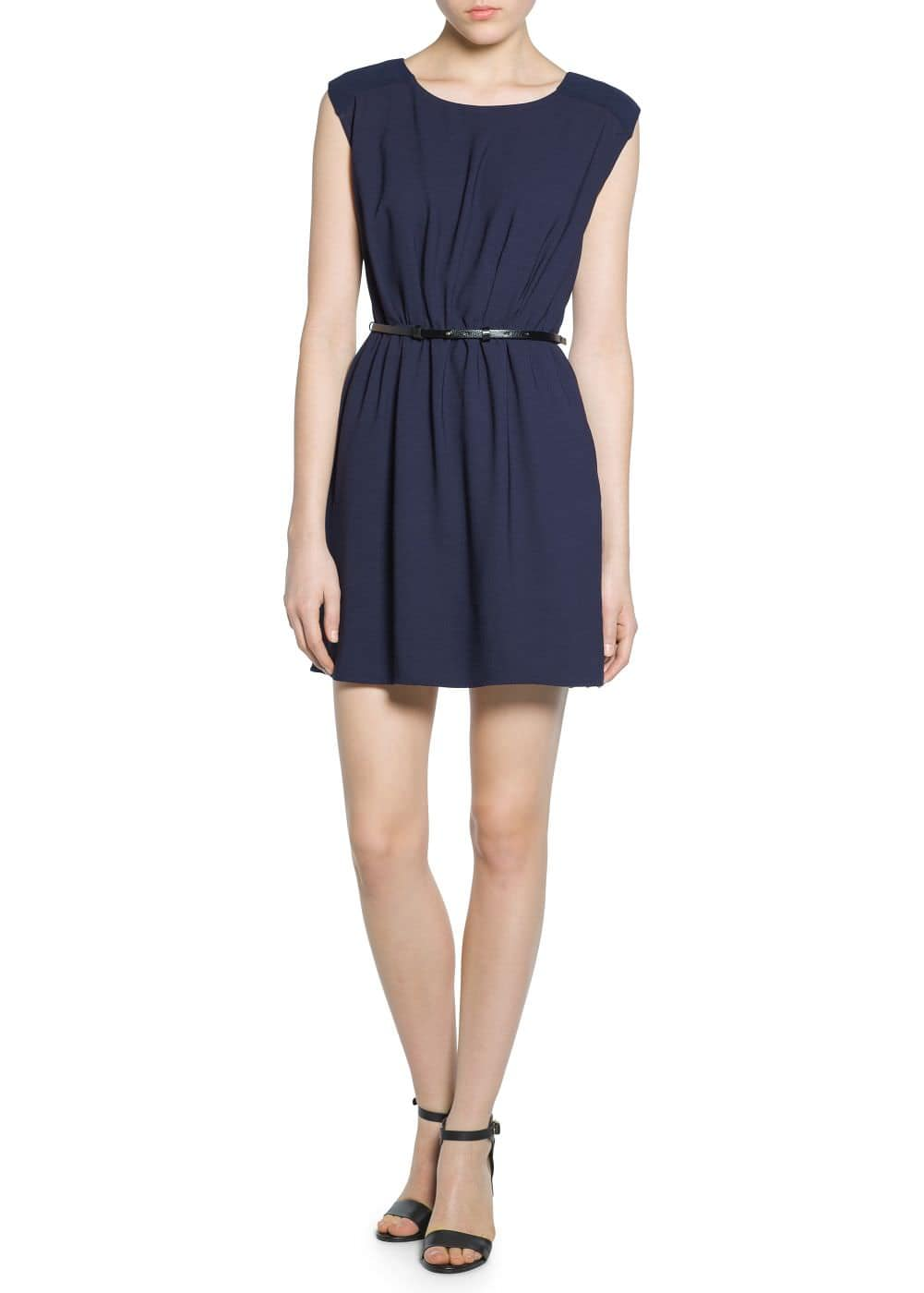 Chiffon panel dress | VIOLETA BY MANGO