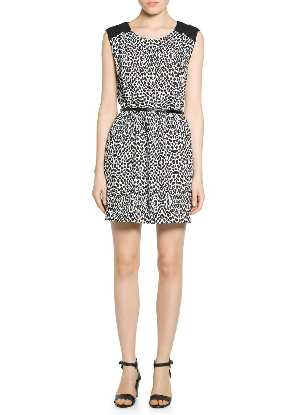 Animal print dress | MANGO