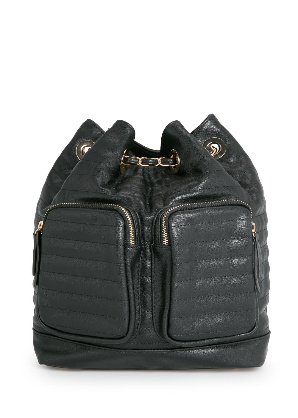 Quilted backpack | MANGO