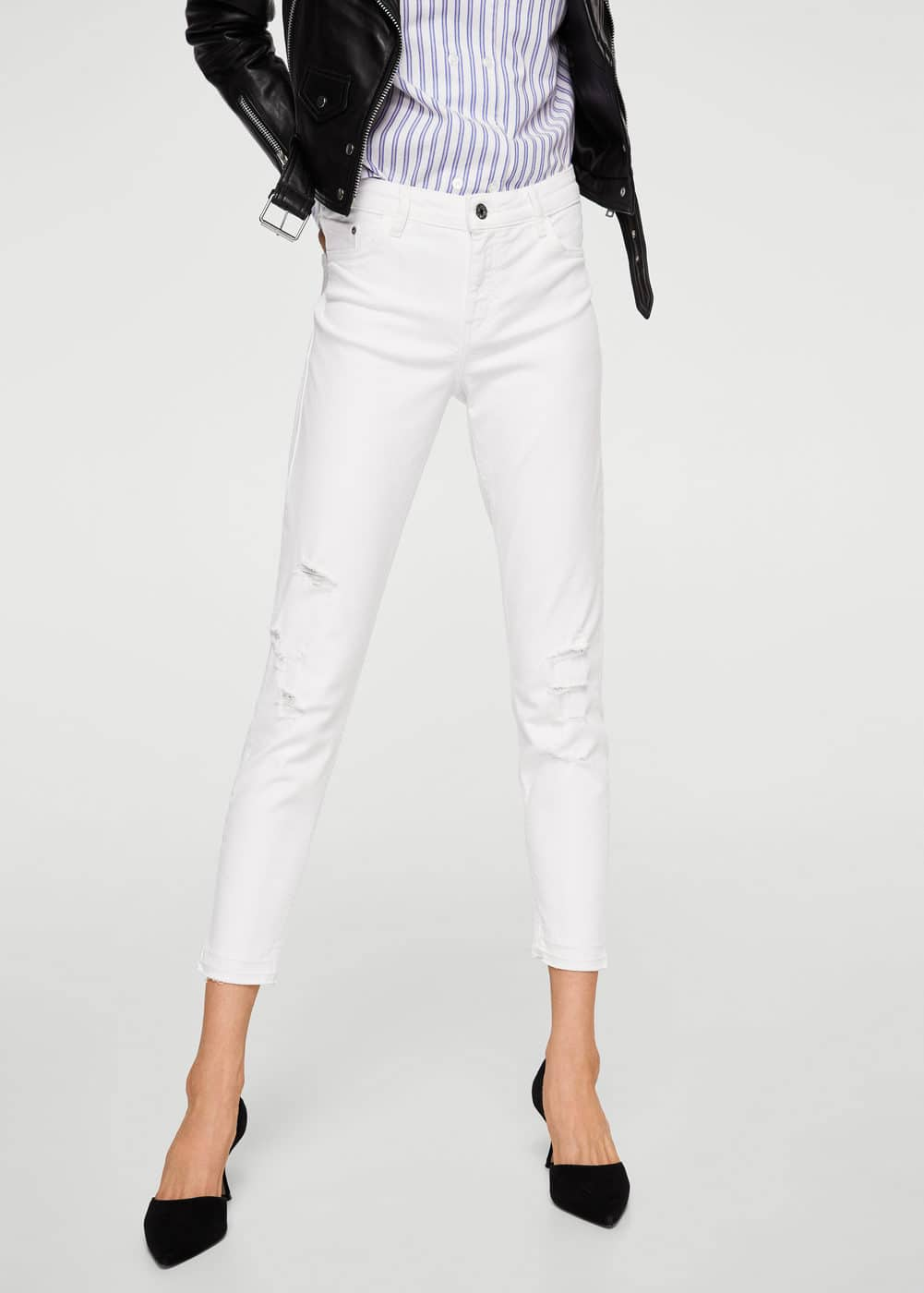 Kate regular waist jeans | MANGO