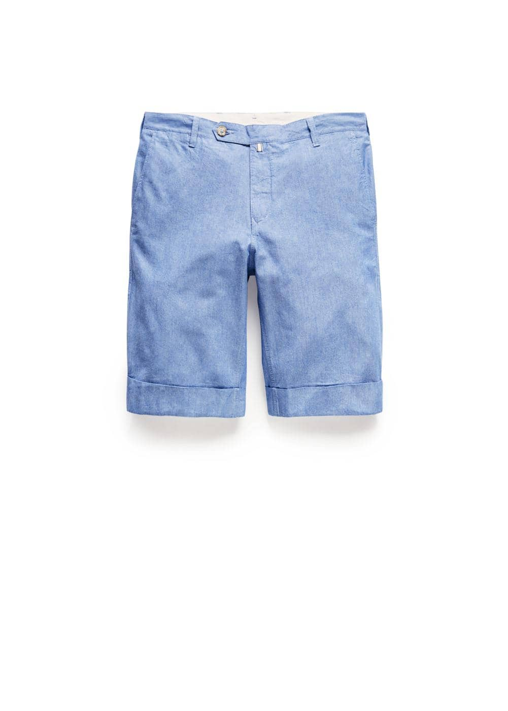 Cotton oxford bermuda shorts | MANGO MAN