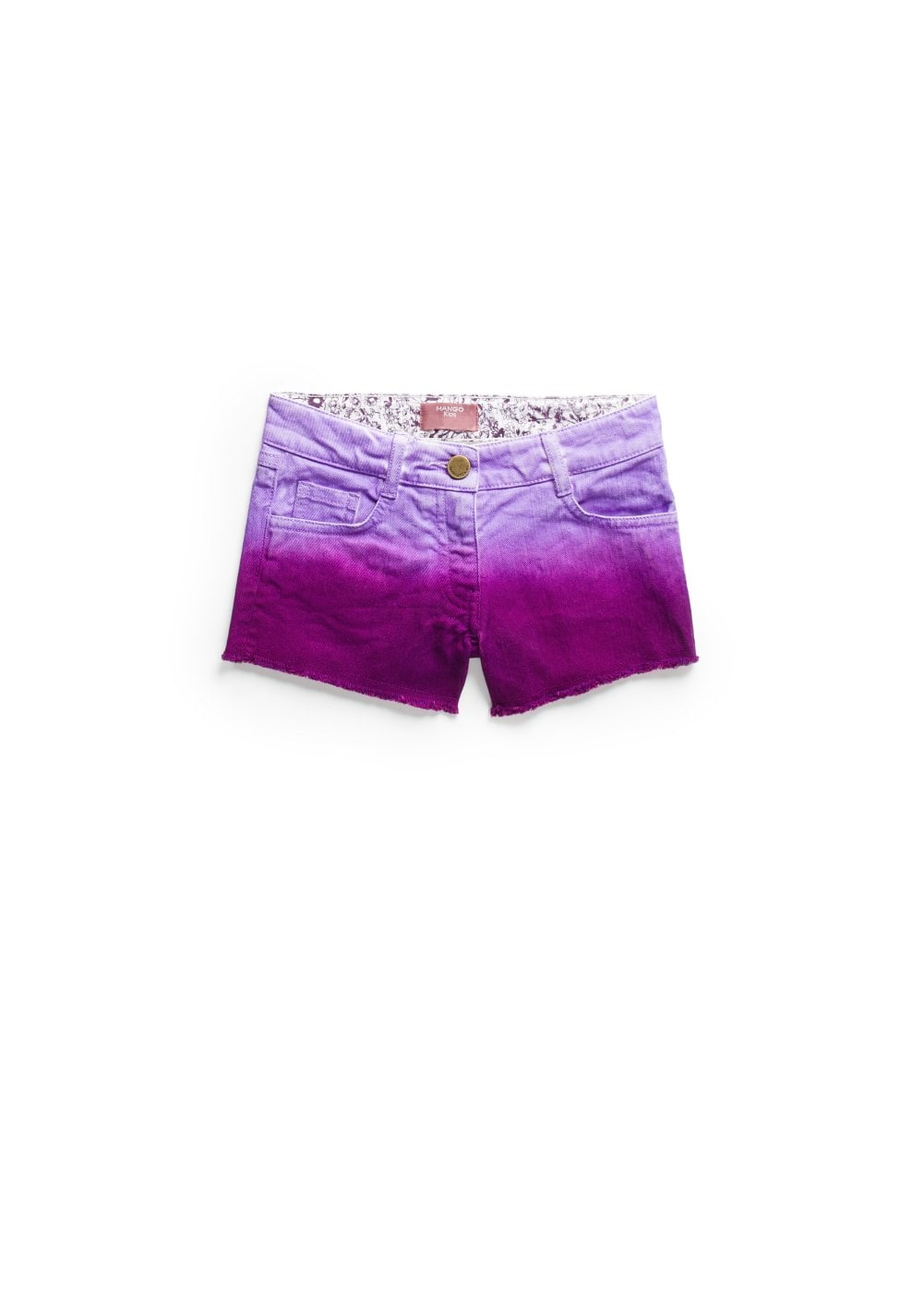 Ombré denim shorts | MANGO