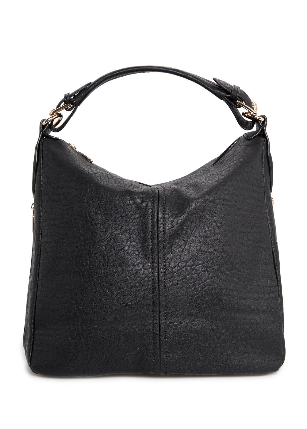 Pebbled hobo bag | MANGO