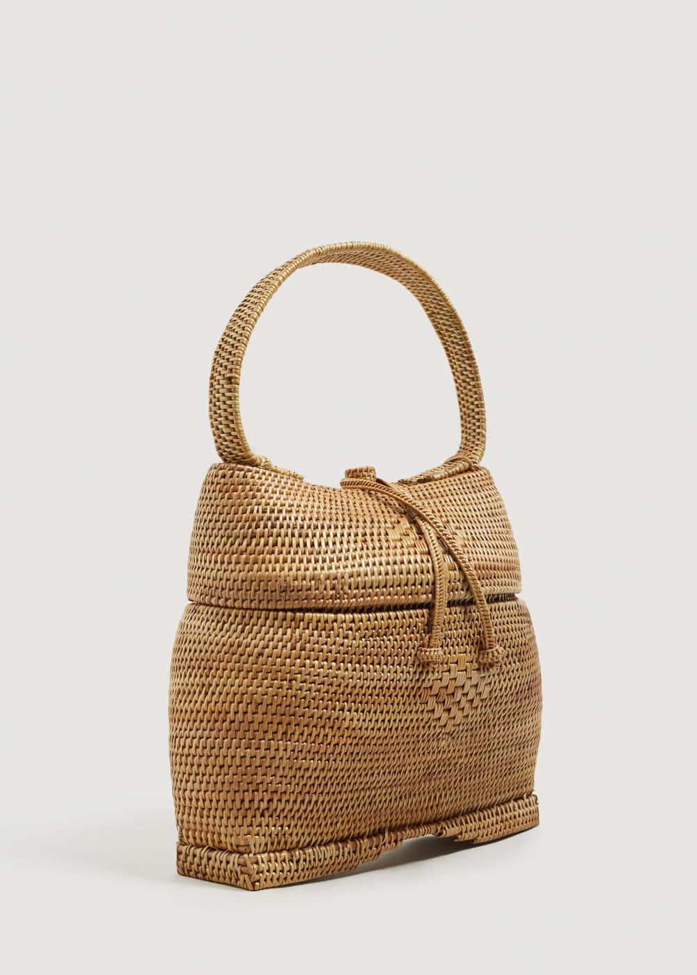 Bamboo Basket Bag Women Mango United Kingdom