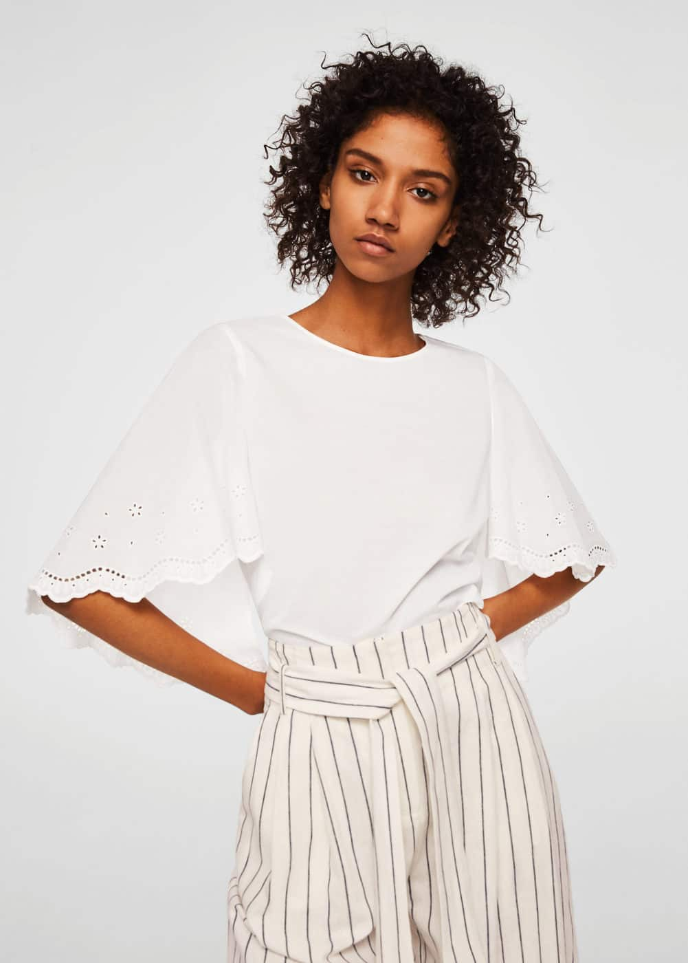 Blouse Maxi Manches by Mango