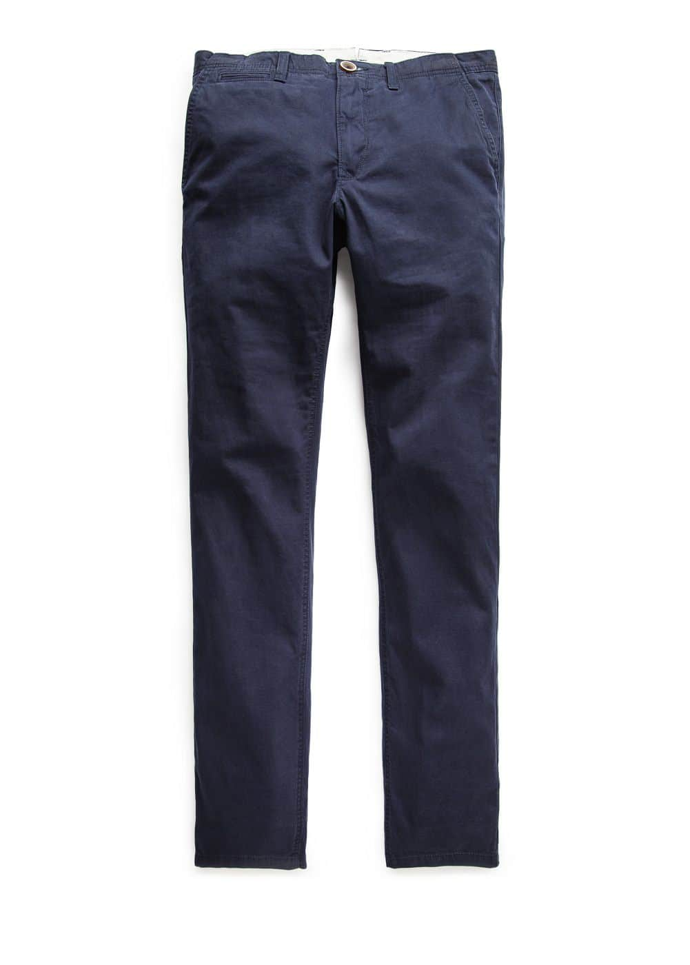Straight-fit cotton chinos | MANGO
