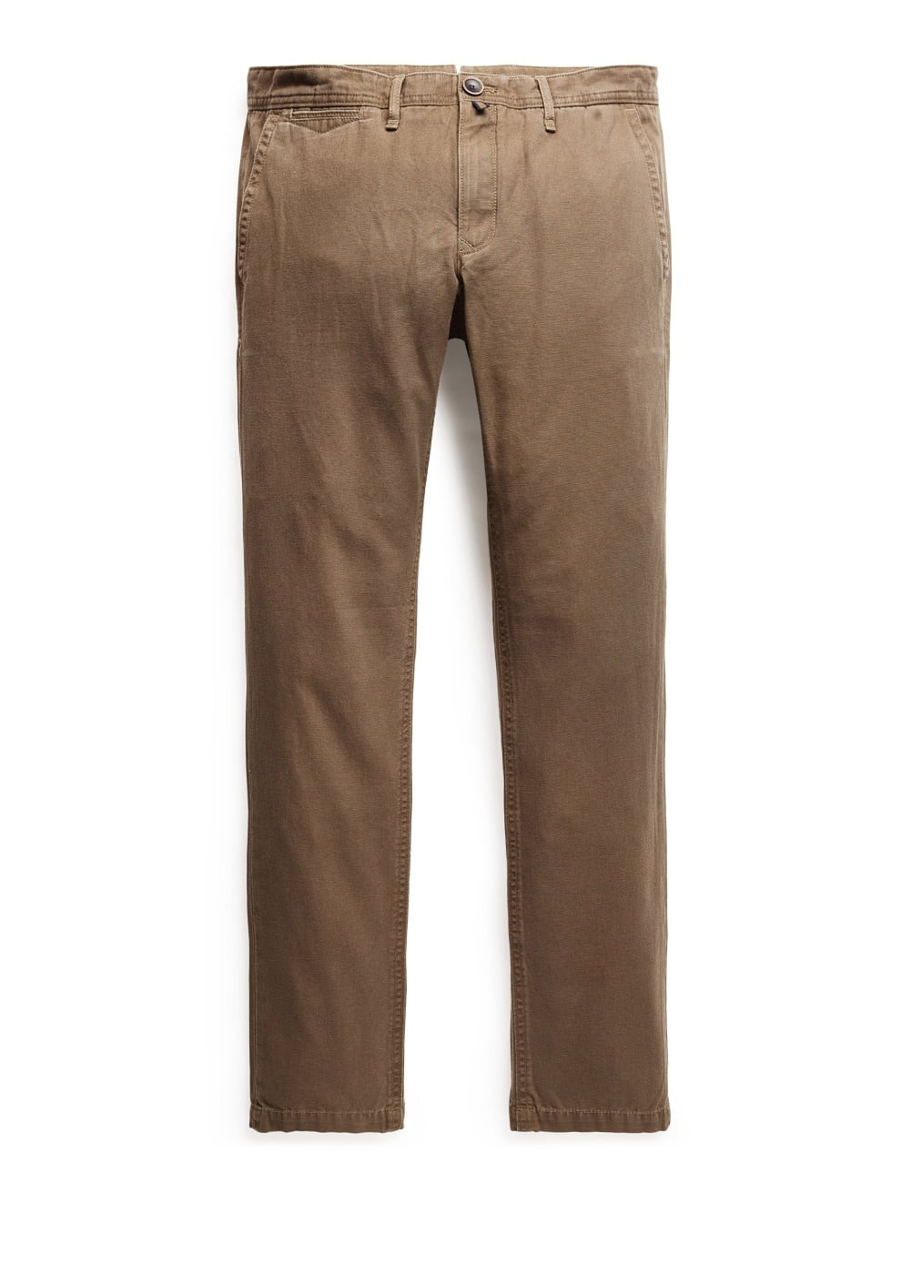 Slim fit chinohose canvas | MANGO MAN