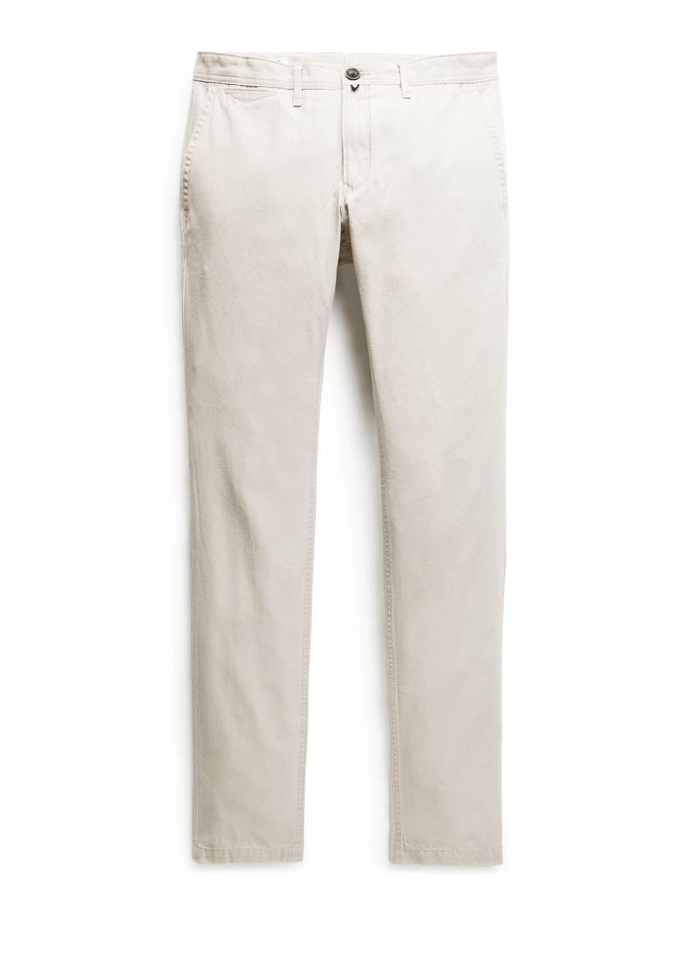 Chino slim-fit canvas | VIOLETA BY MANGO