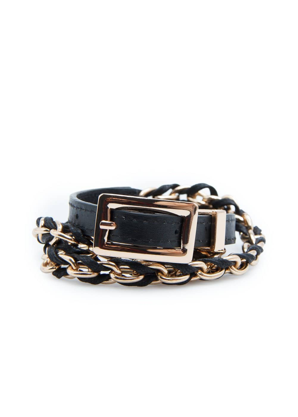 Braided chain belt | MANGO MAN