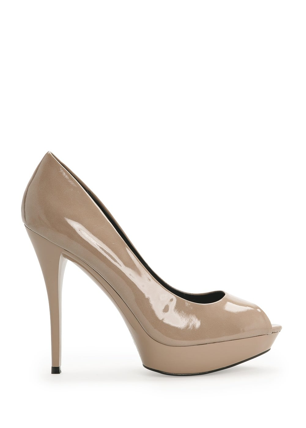 Peep-toe platform shoes | MANGO