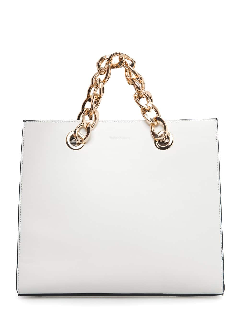 Chain tote bag | MANGO