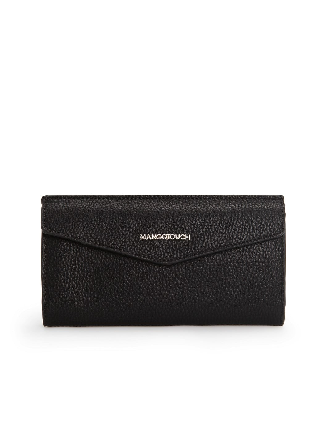 Pebbled texture wallet | MANGO
