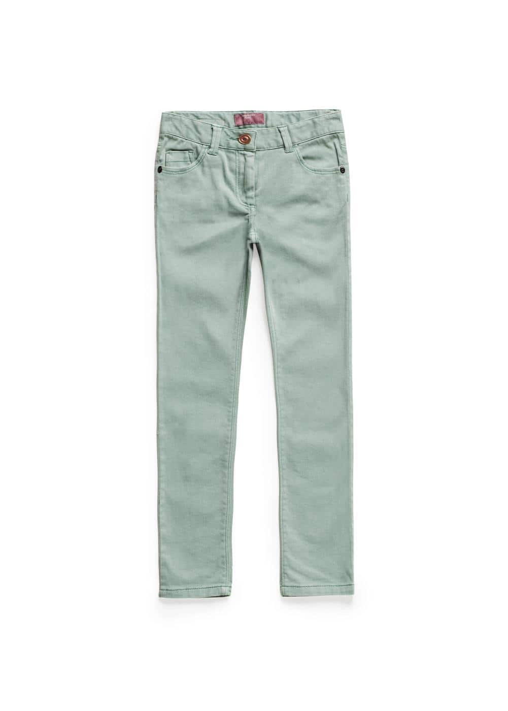Slim-fit denim trousers | MANGO