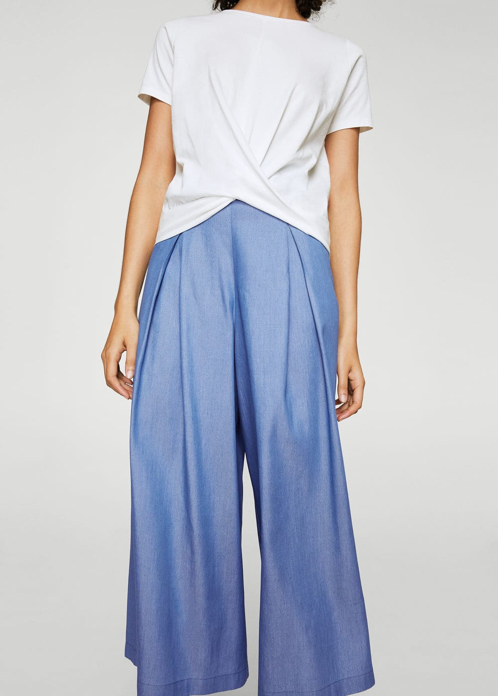 Pleat detail trousers | MANGO