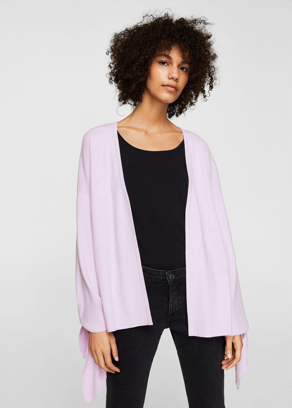 Puffed sleeves cardigan | MANGO