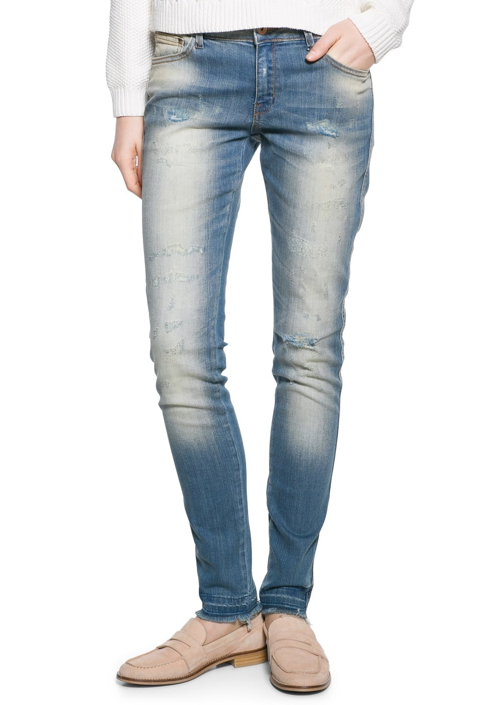 Super slim fit jeans arizona | MANGO