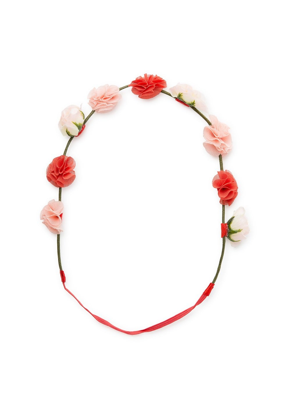 Mini flower hairband | MANGO KIDS