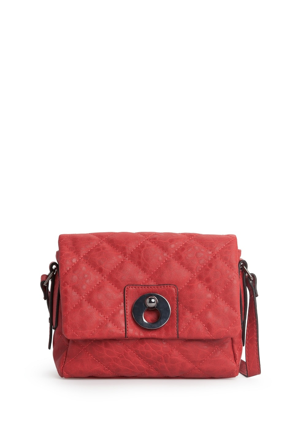 Quilted mini cross body bag | MANGO