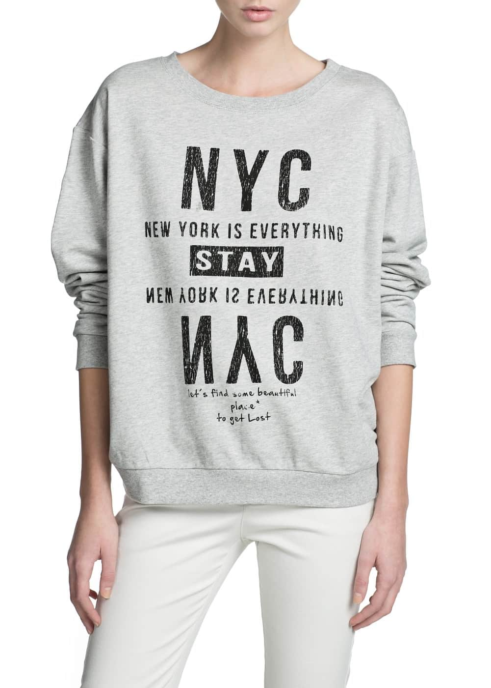 Nyc sweater | MANGO