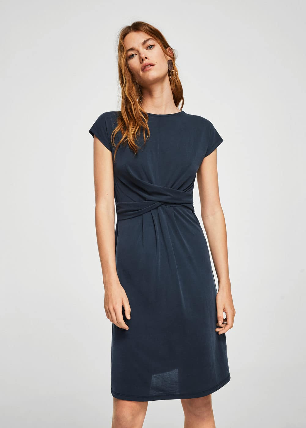 Knotted dress | MANGO