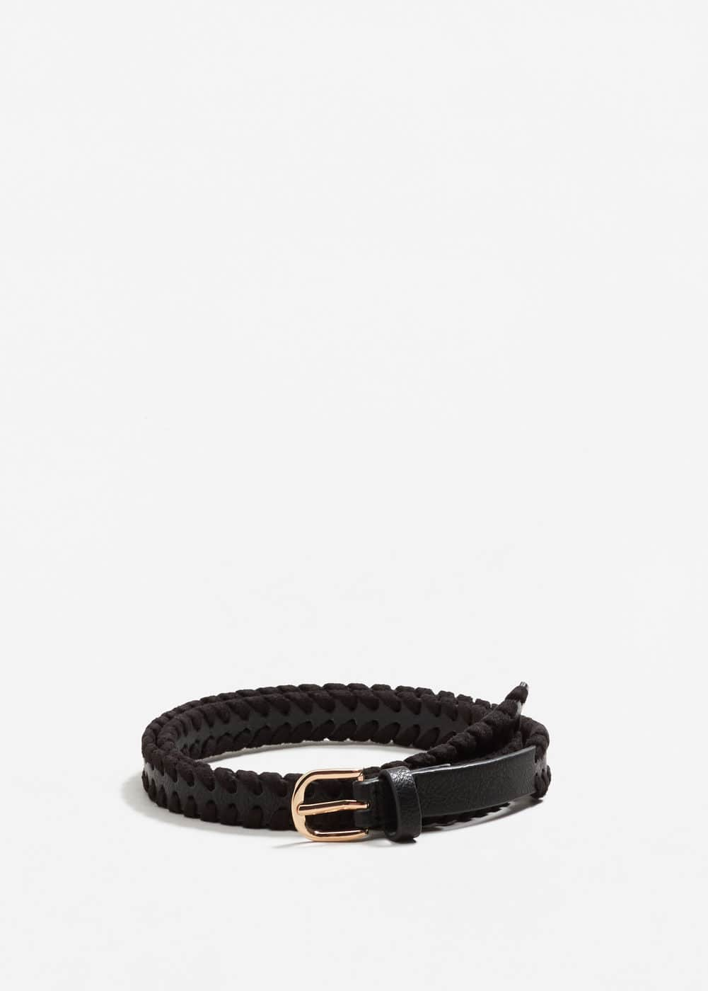 Braided trim belt | MANGO