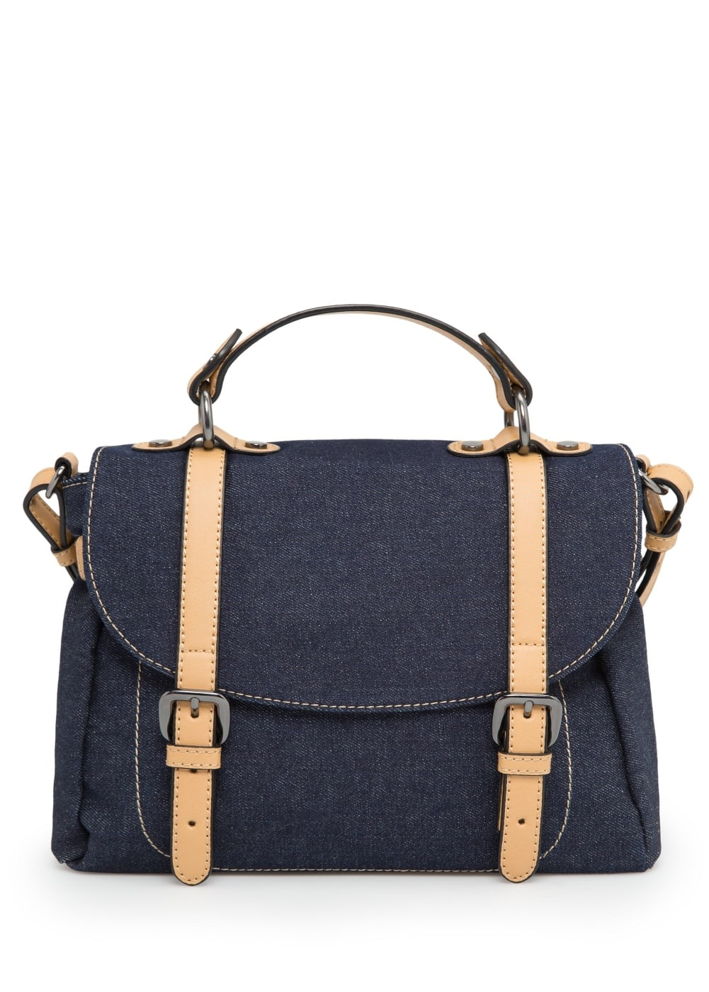 Denim tote bag | MANGO