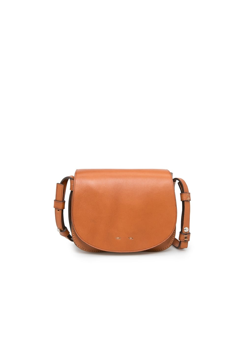 Premium - leather cross body bag | MANGO
