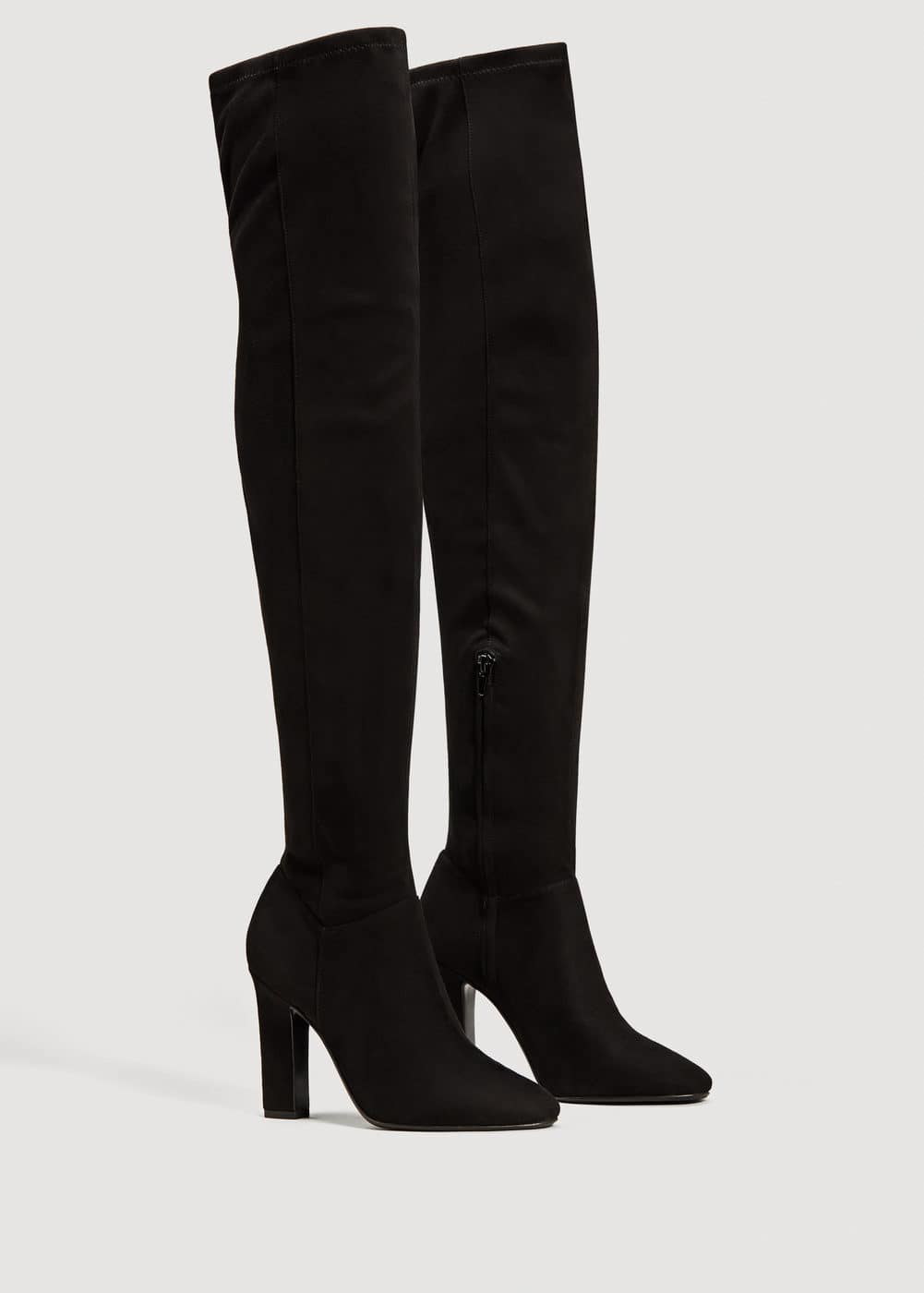 Over the knee heel boots | MNG