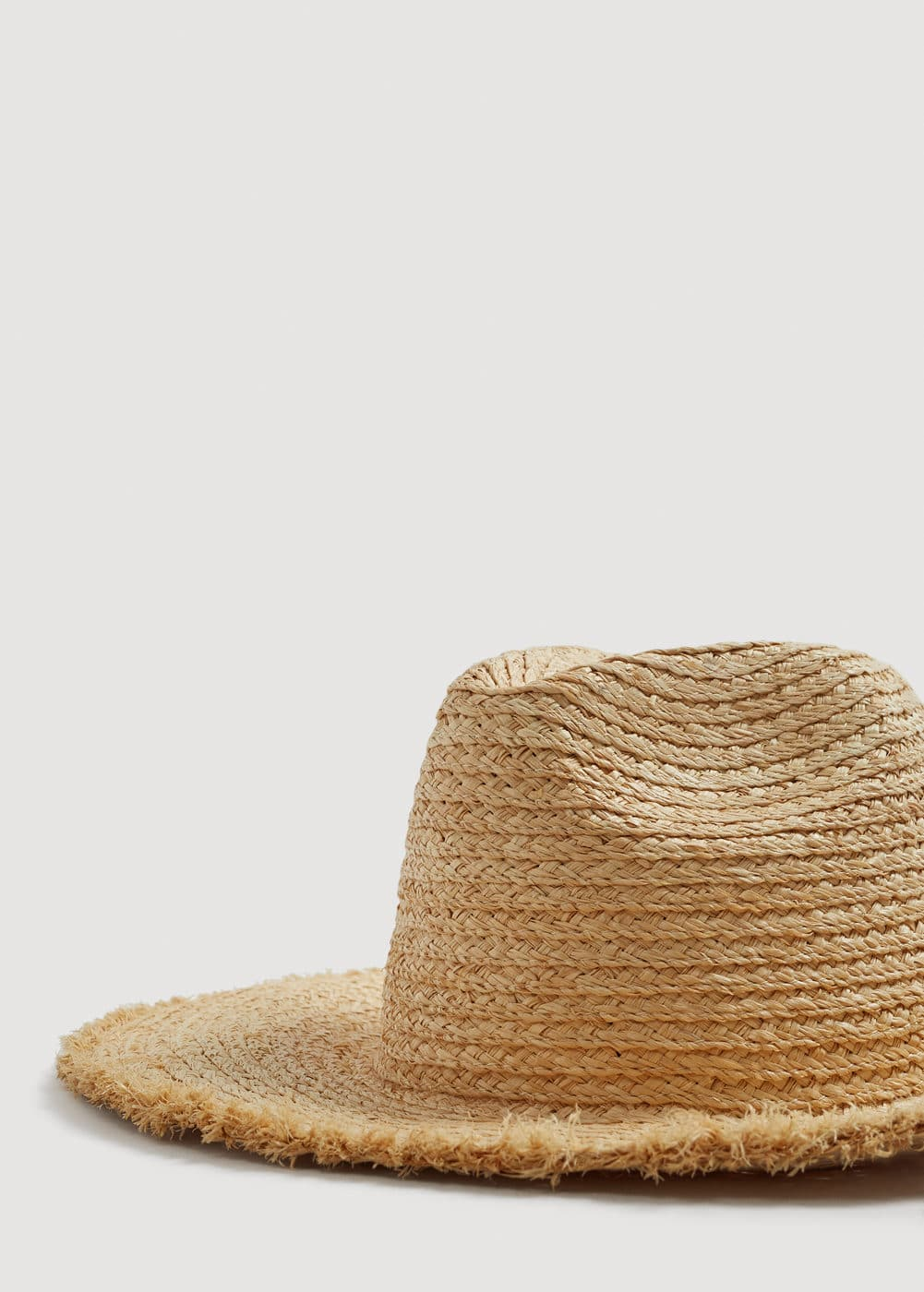 Straw hat | MANGO MAN