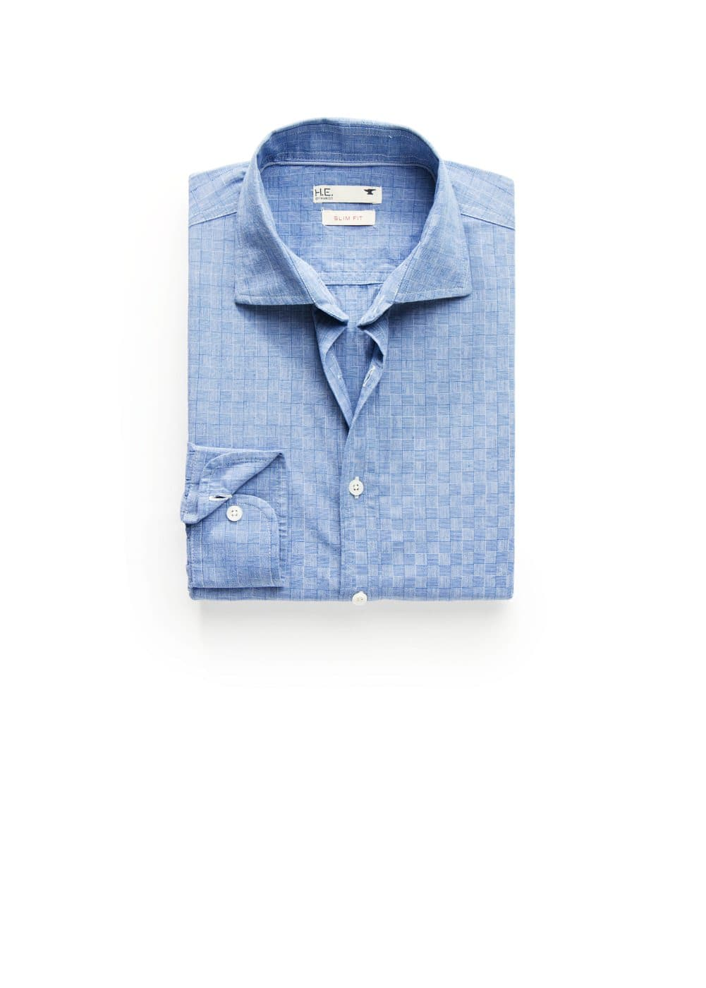 Slim-fit patterned shirt | MANGO