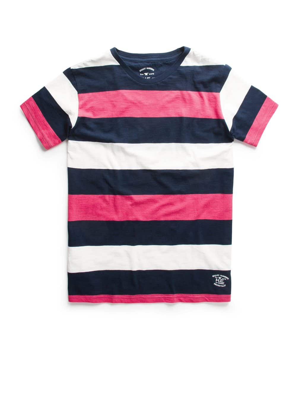 Camiseta rayas color block | MANGO MAN