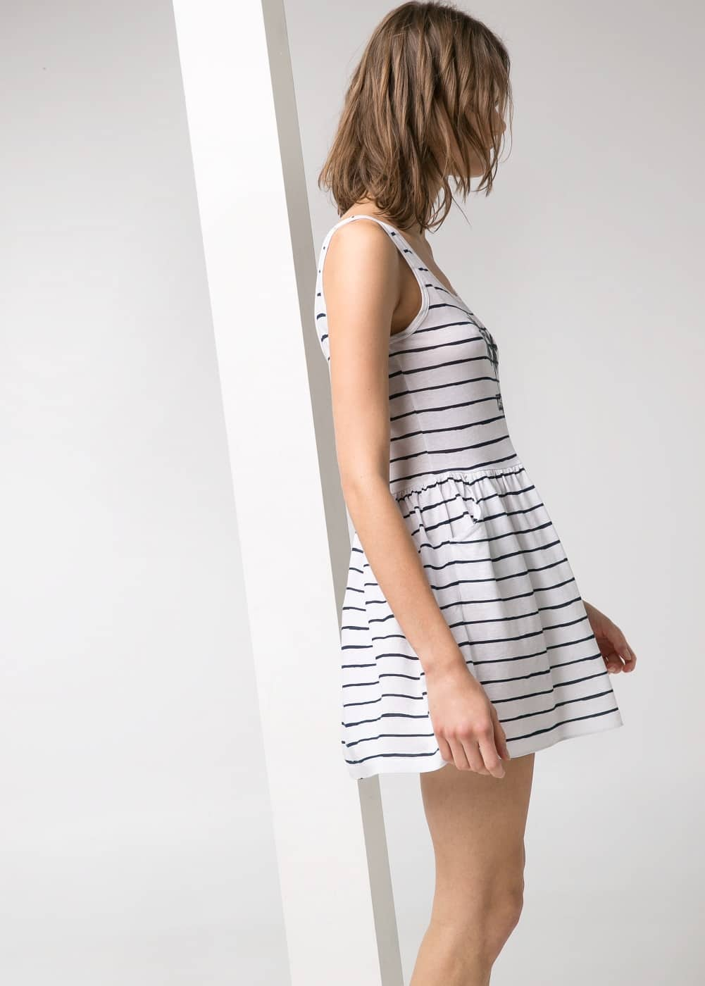 California striped dress | MANGO
