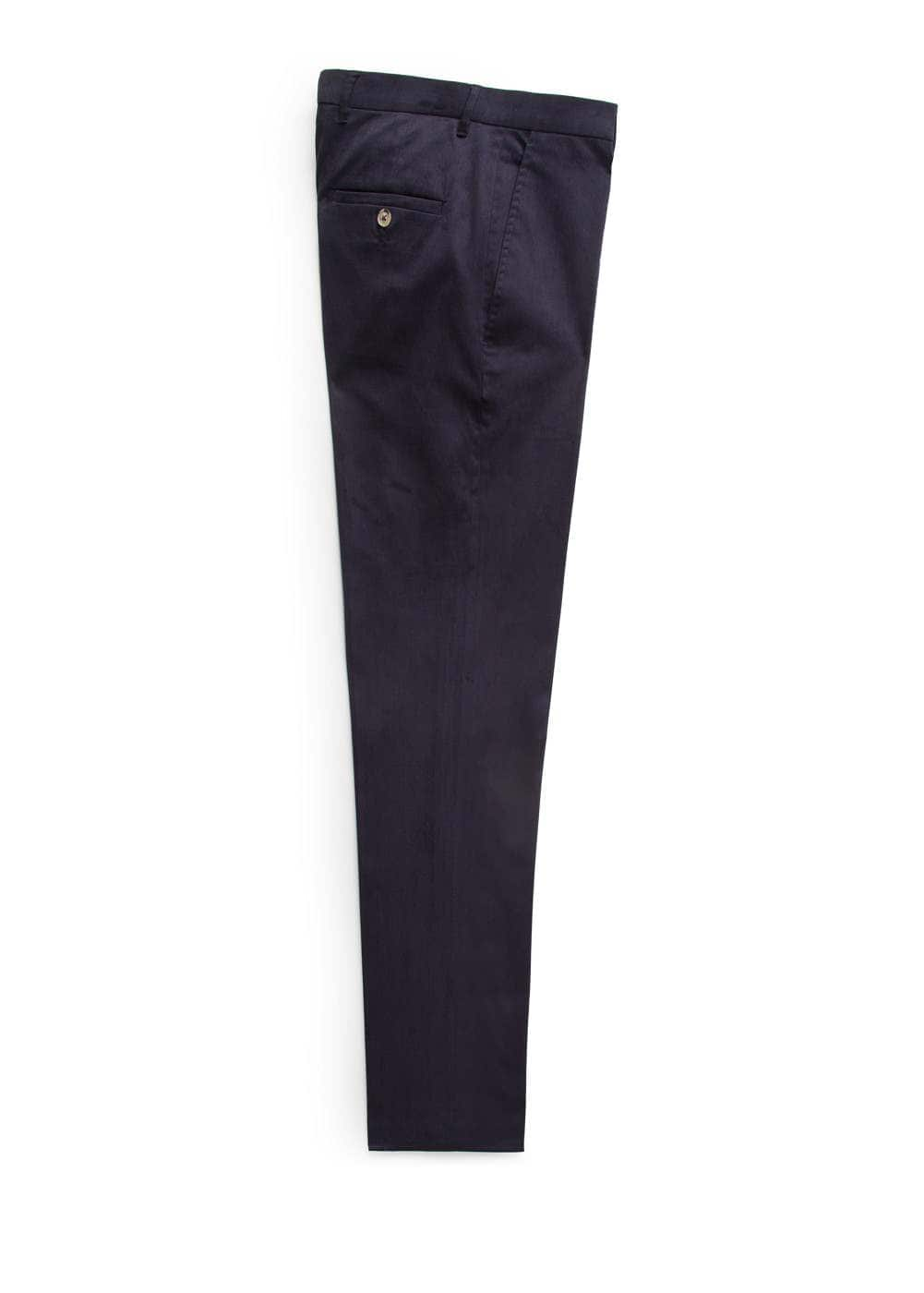 Slim fit premium-chinohose | MANGO MAN