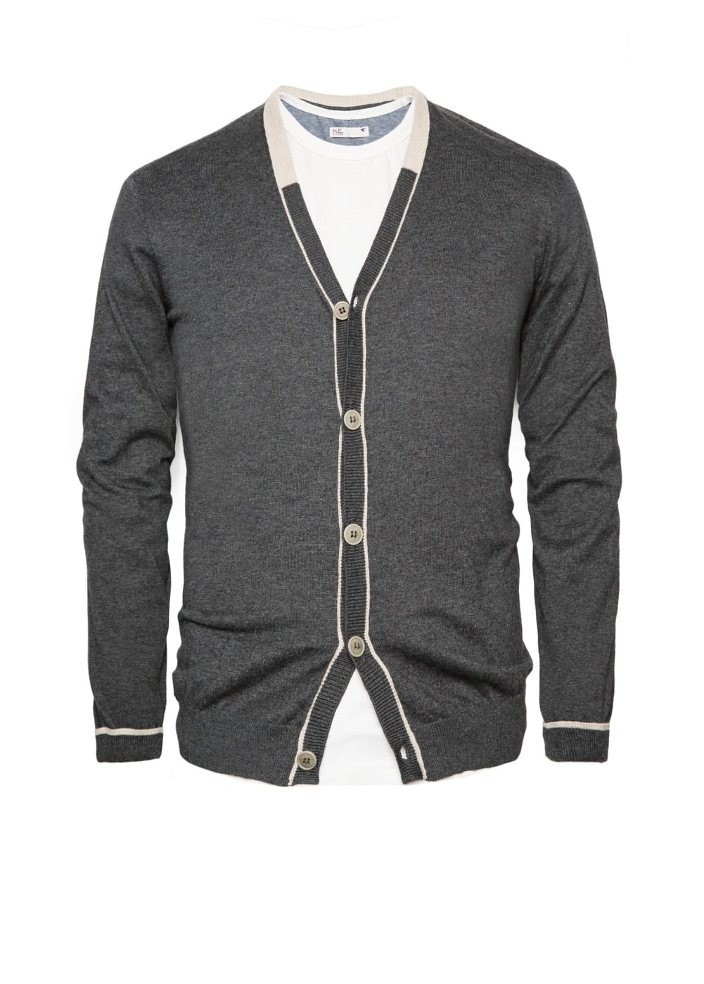 Cashmere cotton-blend cardigan | MANGO