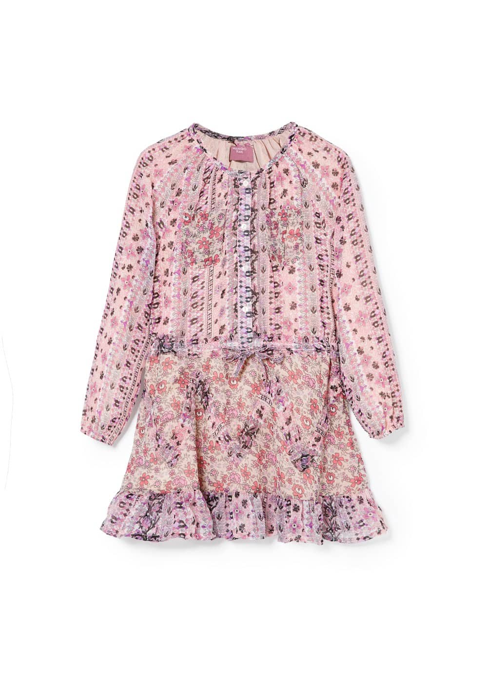 Liberty print dress | MANGO KIDS