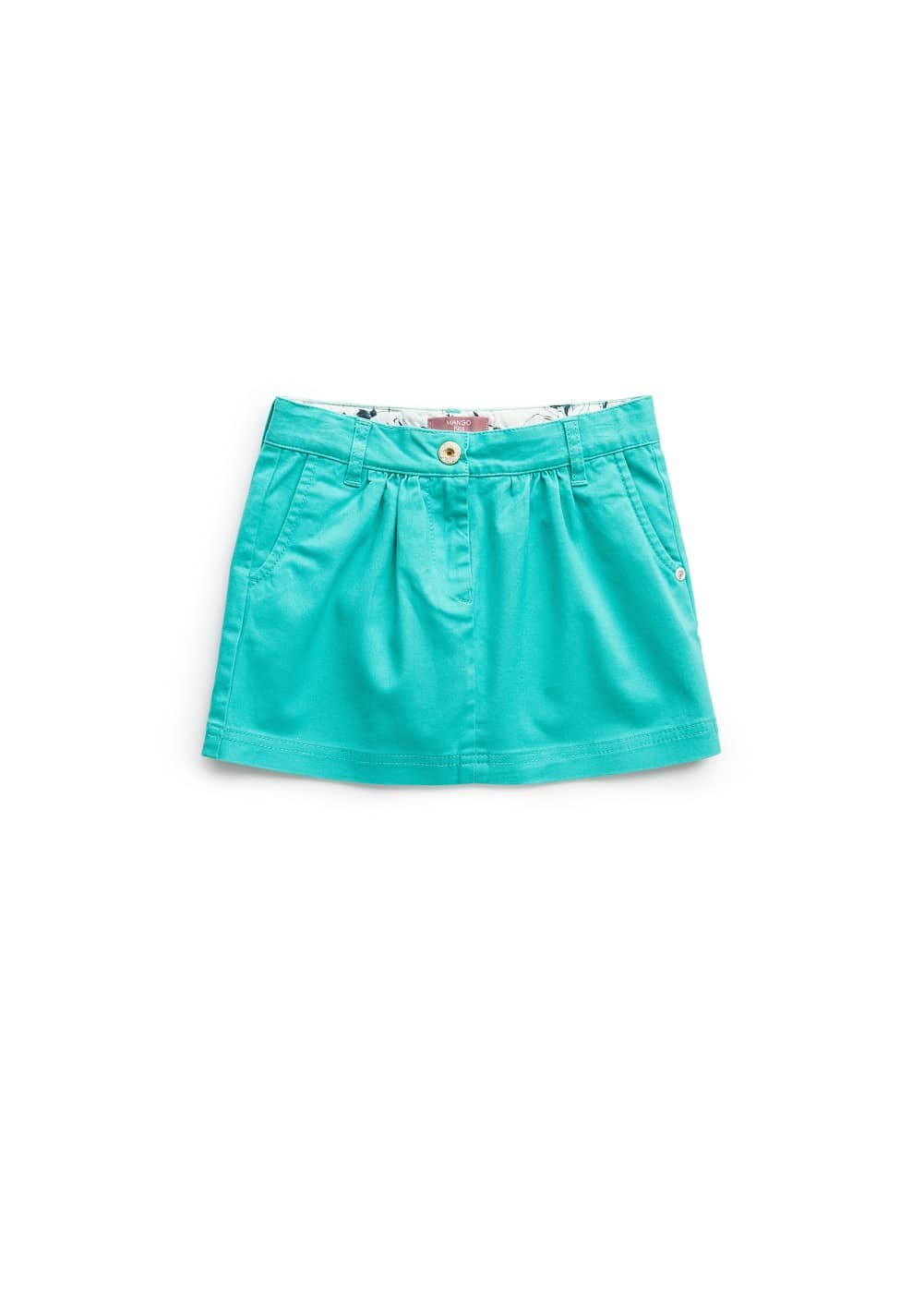 Cotton skirt | MANGO KIDS