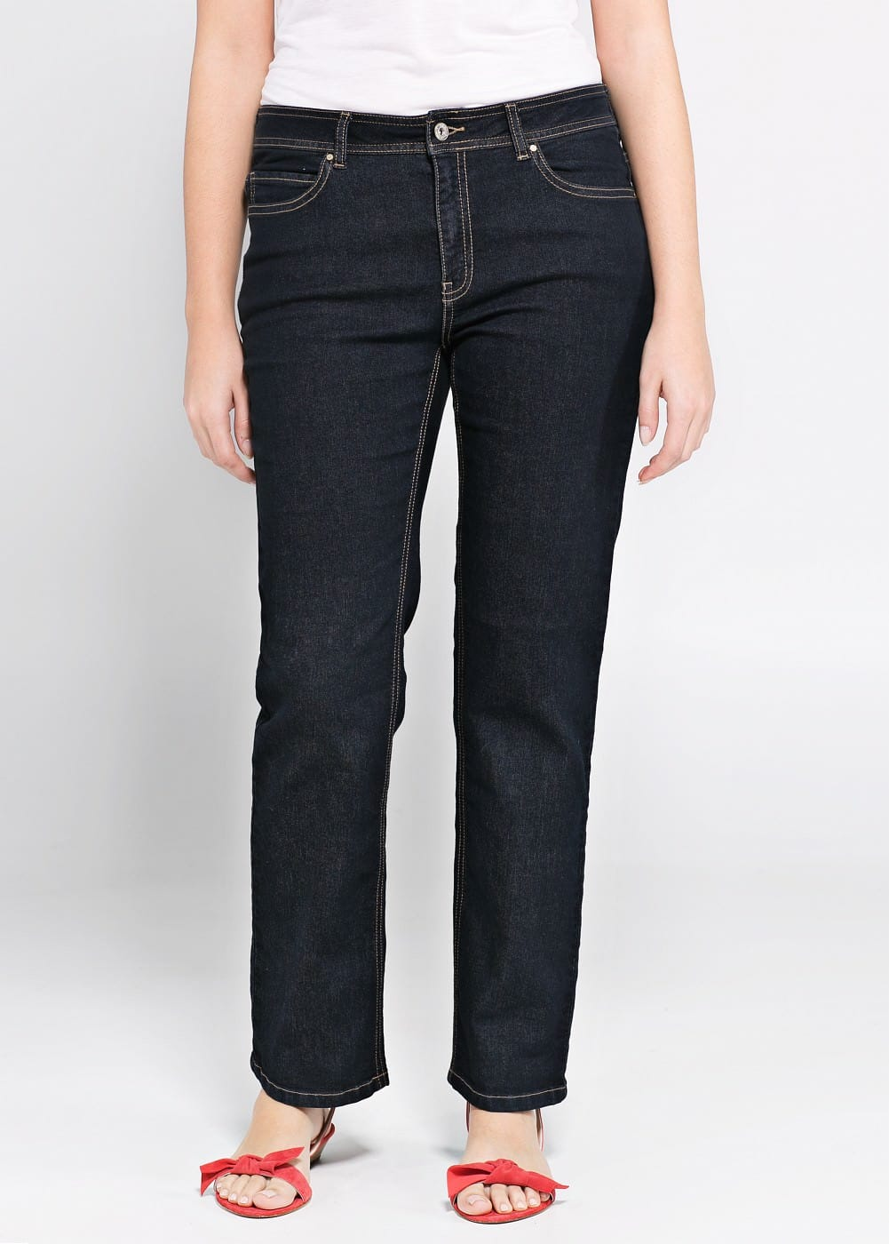 Straight-fit ely jeans | MANGO