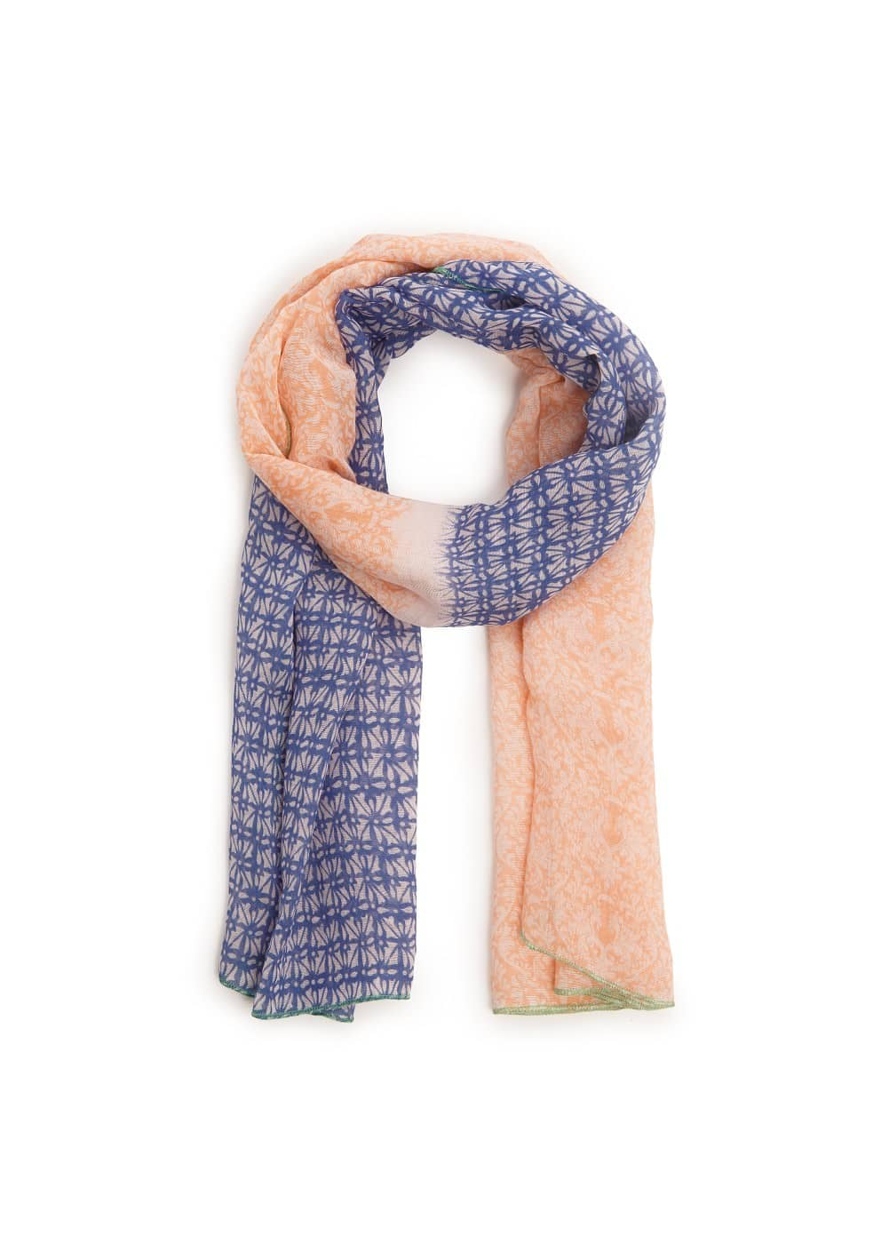 Mixed print scarf | MANGO KIDS