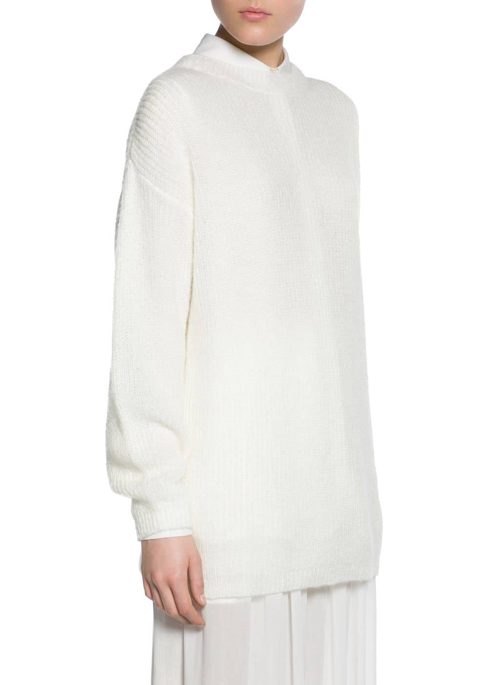 Pull-over long mohair | MANGO