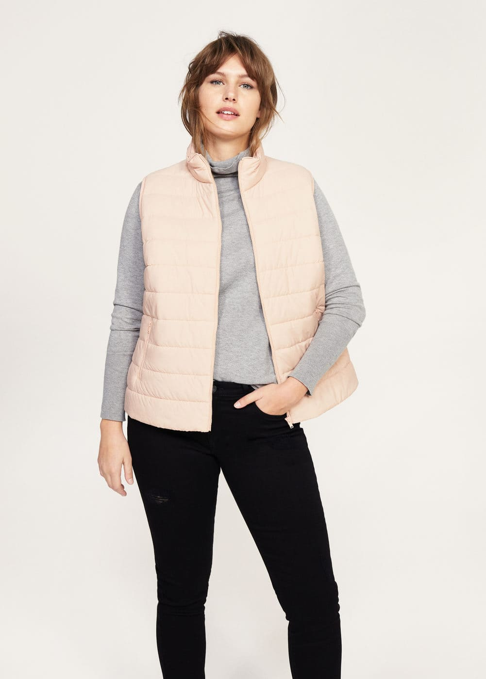 Quilted gilet | MANGO