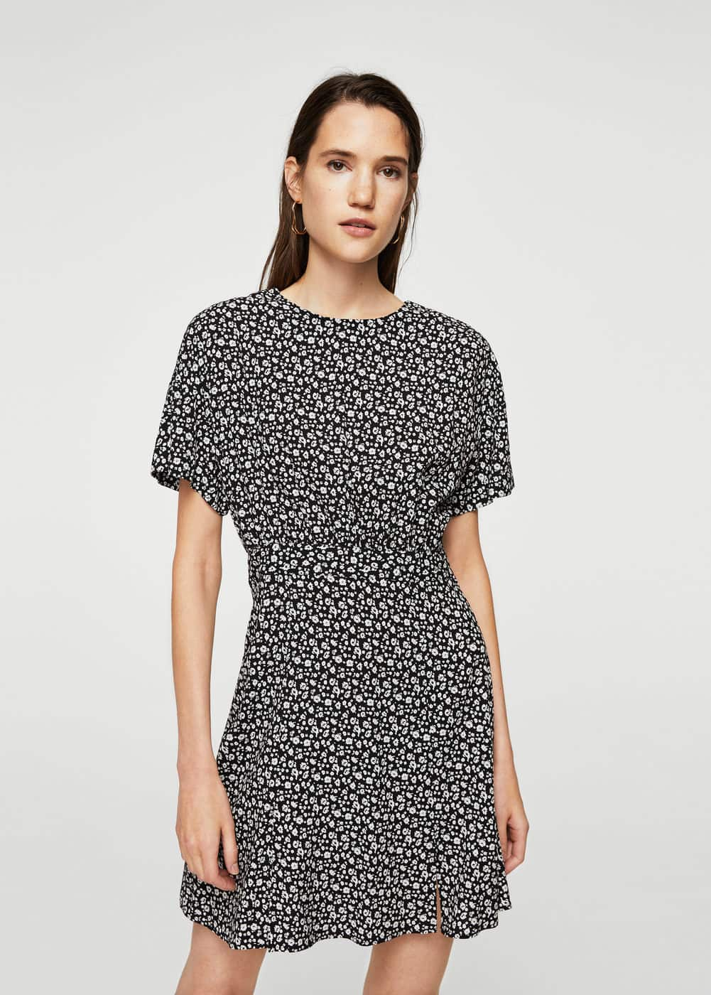 Flower print dress | MANGO